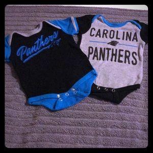 Official NFL Carolina Panthers onesies